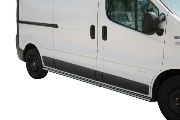 Renault Trafic Oval side protections