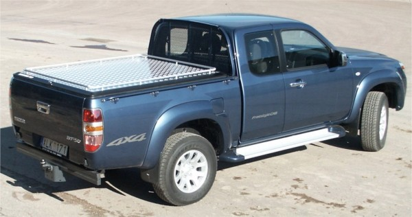 Ford Ranger Ec Mountain Top Cover With Ladder Rack