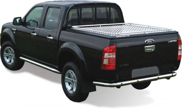 Ford Ranger Dc Mountain Top Cover With Ladder Rack