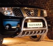 Nissan Navara D40 Type U 70 mm crossbar with axle bars CE Approved