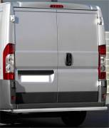 Peugeot Boxer 06' rear bar 60mm brushed