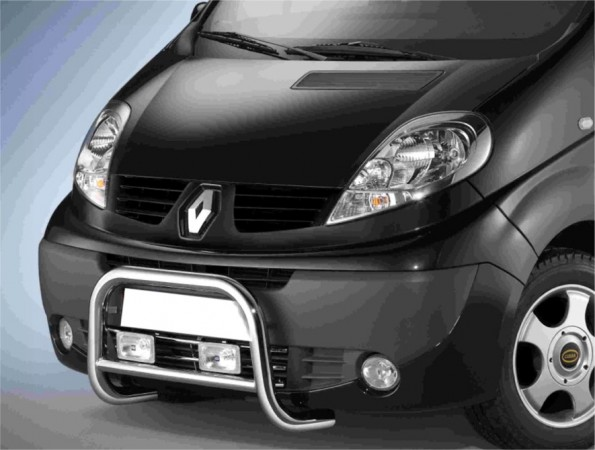 Renault Trafic 06' Frontguard with EC Approval