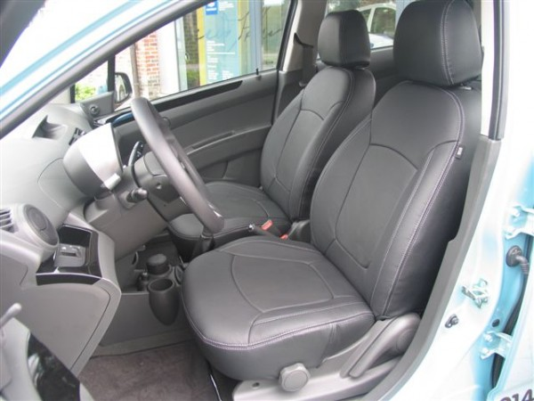 chevrolet spark leather interior upgrade. Black Bedroom Furniture Sets. Home Design Ideas