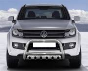 VW Amarok EU low Bar with cross bar and axle plate
