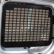 Rear Door Window Grilles Transit Custum '12 - No wiper