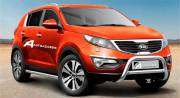 Kia Sportage 2010 Type U 70 mm with crossbar CE Appr.