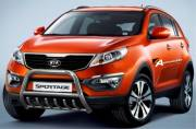 Kia Sportage 2010 Type U 70 mm with crossbar & axcle bar CE Appr.