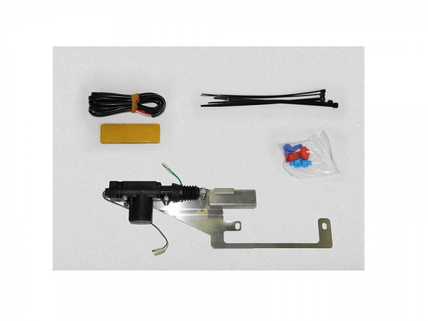 Tailgate lock system for oe remote nissan navara d