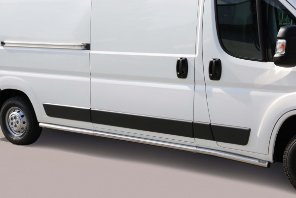 Fiat Ducato'14 Side Bars L3 63 mm