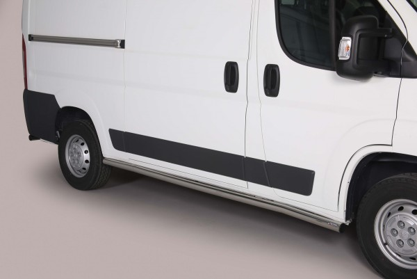 Fiat Ducato'14 Side Bars L1 63 mm