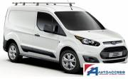 Ford Transit Connect 2014- Delta Bars H1/L1L2 Twin doors - 3 Bar system