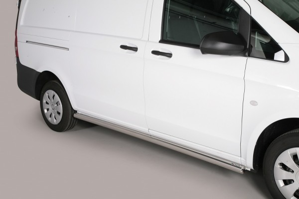 Mercedes Vito '15 Side bars 63 mm - SWB