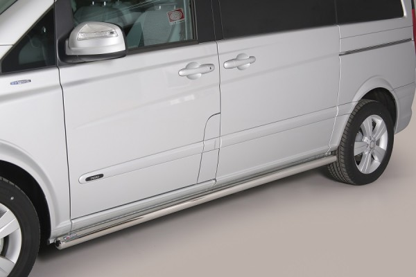 Mercedes Viano '15 Side bars 63 mm - SWB