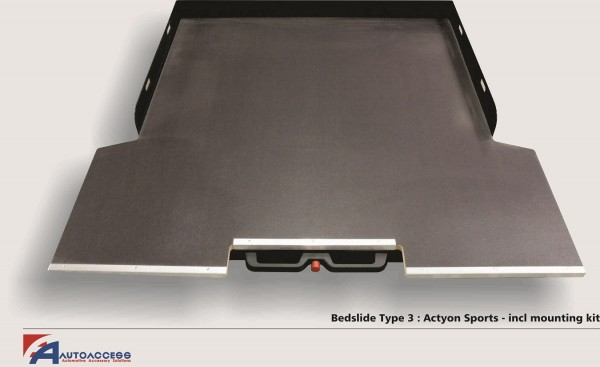 Sliding cargo tray Type III for Actyon Sports '12