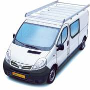 Nissan Primastar 01- Alu Rack L2H1 with tailgate
