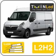 Opel Movano L2H2 Twinled 12v. Luxe set