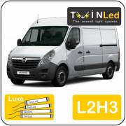 Opel Movano L2H3 Twinled 12. Luxe set