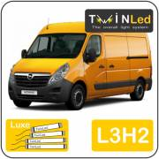 Opel Movano L3H2 Twinled 12v. Luxe set