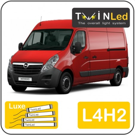 Opel Movano L4H2 Twinled 12v. Luxe set