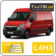 Opel Movano L4H3 Twinled 12v. Luxe set