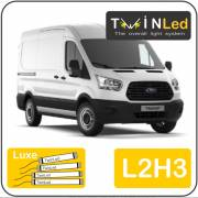 Ford Transit 2T L2H3 Twinled 12v. Luxe set
