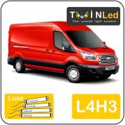 Ford Transit 2T L4H3 Twinled 12v. Luxe set