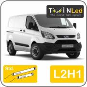Ford Transit Custom L2H1 Twinled 12v. Std. set