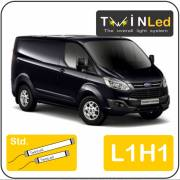 Ford Transit Custom L1H1 Twinled 12v. Std. set