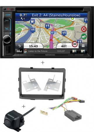 SsangYong Actyon Sports '12 Kenwood DNX5160BTS pack
