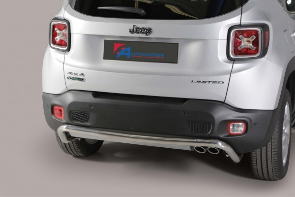 Jeep Renegade '14 Rear protection 50 mm
