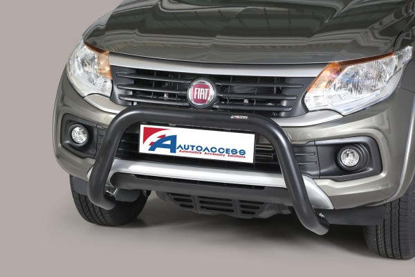 Fiat Fullback DC '16 Super Bar 76mm EC Approved Black