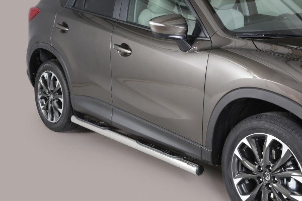 Mazda CX-5 '16 Side bar with steps 76mm