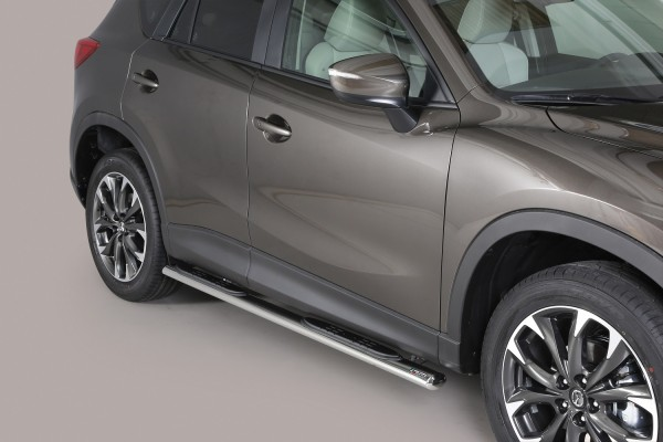 Mazda CX-5 '16 Oval side bar with steps