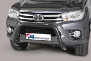 Toyota Hi-Lux 2016 Super Bar 76 mm EC Approved Black