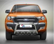 Ford Ranger T6 EC A bar with cross bar and axle-bar.