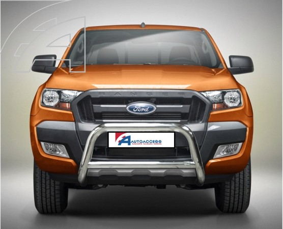 ford ranger t6 eu low a bar with cross bar. Black Bedroom Furniture Sets. Home Design Ideas