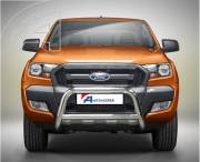 Ford Ranger T6 EU low A bar with cross bar.