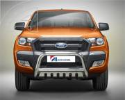 Ford Ranger T6 EU A bar with cross bar and axle-plate.