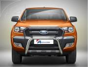 Ford Ranger T6 EU A bar without cross bar