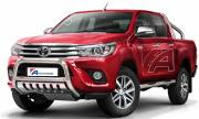 Toyota Hilux '15 Type u 70 mm with cross bar and axle-plate