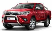Toyota Hilux '15 Type u 70 mm without cross bar