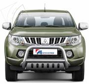 Mitsubishi L200 '15 Type U 70 mm with cross bar and axle-plate