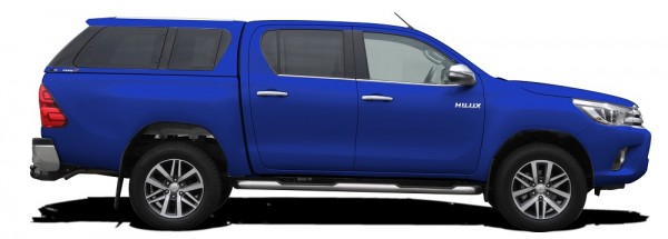 Hardtop Type E+ Toyota Hilux DC '16 OE Remote 8X2 Blue Metal