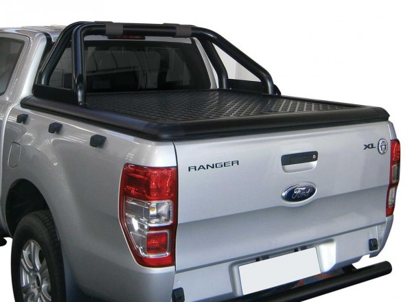 Ford Ranger T6 EC Black Alu tonneau cover (limited version)
