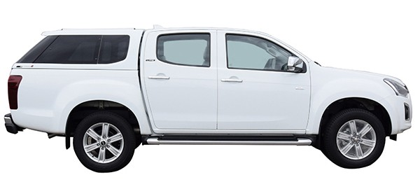 Hardtop Type E Isuzu D-Max DC '17 OER RT Splash white 527