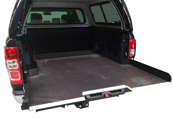 Sliding cargo tray Type III for Ford Ranger T6 DC '16