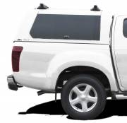 Hardtop CME Isuzu '17 EC Splash White 527 side glass