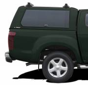 Hardtop CME Isuzu '17 EC Tundra Green 533 side glass