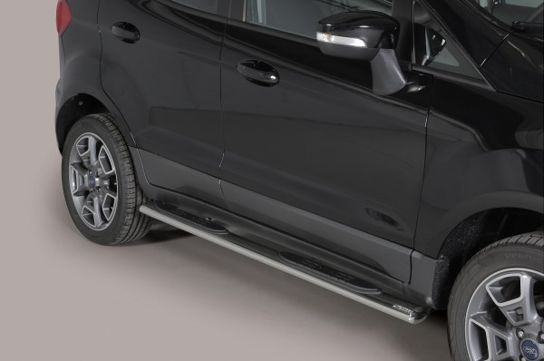 Ford Ecosport '14 Oval side bar with step