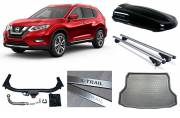 Family Pack Nissan X-Trail T32B '17 Roofbox Black 420L 5 seater - NBSETFAMT32B5RB